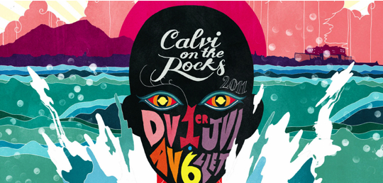 Calvi on the rocks