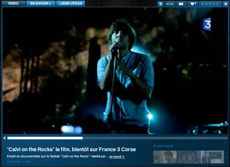 Vidéo L'ambiance du Calvi On The Rocks France 3