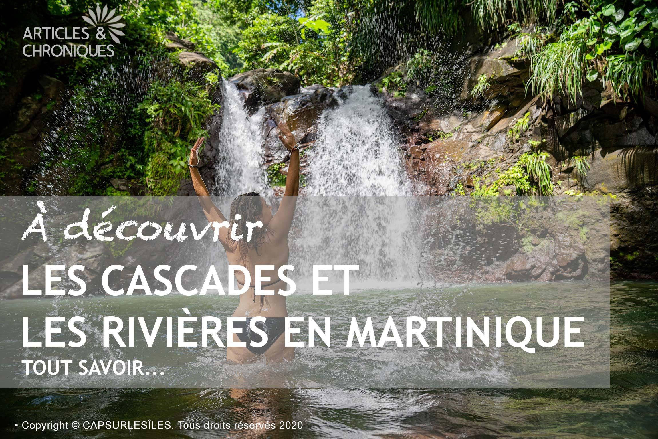 Cascades et rivières de Martinique